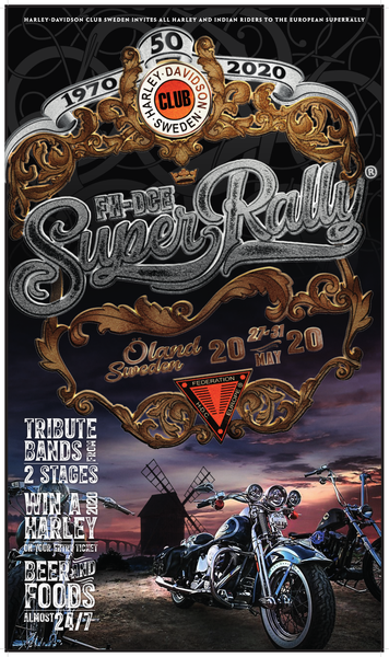 FH - DCE Super Rally 2020 Poster